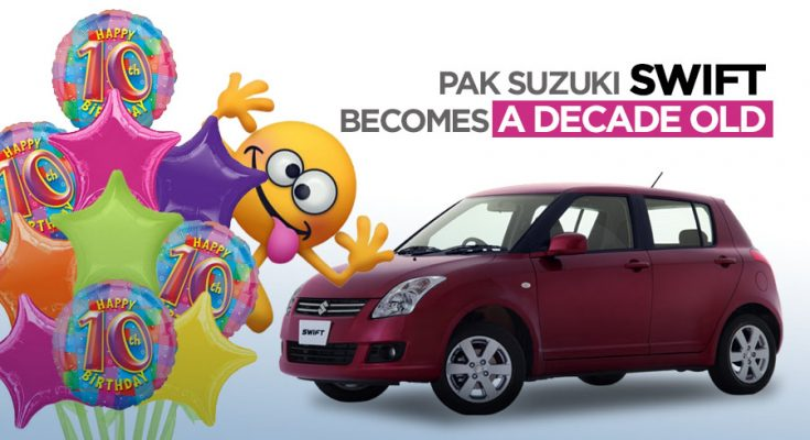 Pak Suzuki Swift Becomes a Decade Old 1