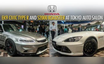 Honda S2000 20th Anniversary Prototype and EK9 Civic Cyber Night Japan Cruiser at 2020 Tokyo Auto Salon 11