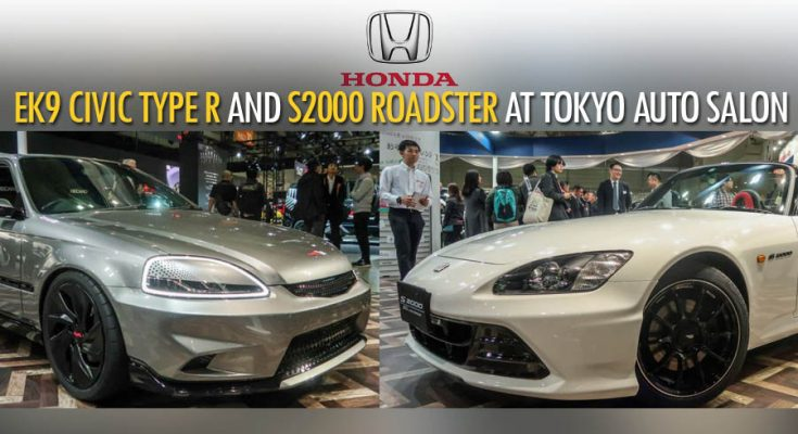 Honda S2000 20th Anniversary Prototype and EK9 Civic Cyber Night Japan Cruiser at 2020 Tokyo Auto Salon 16