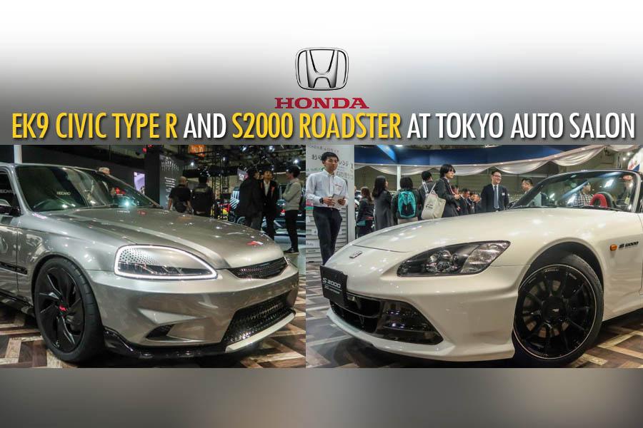 Honda S2000 20th Anniversary Prototype and EK9 Civic Cyber Night Japan Cruiser at 2020 Tokyo Auto Salon 4