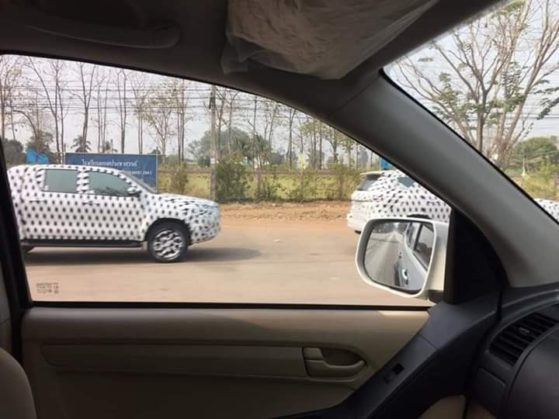 Toyota Hilux and Fortuner Facelift Spotted Testing in Thailand 5