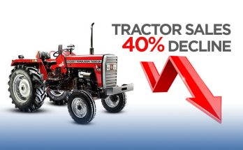 Tractor Sales Declined by 40% 3