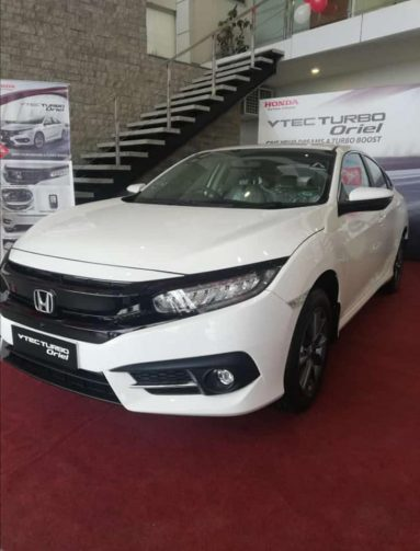 Honda Atlas Introduced a New Civic Variant Called Turbo Oriel 7