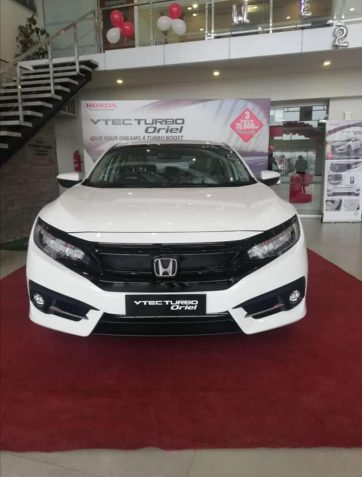 Honda Atlas Introduced a New Civic Variant Called Turbo Oriel 4