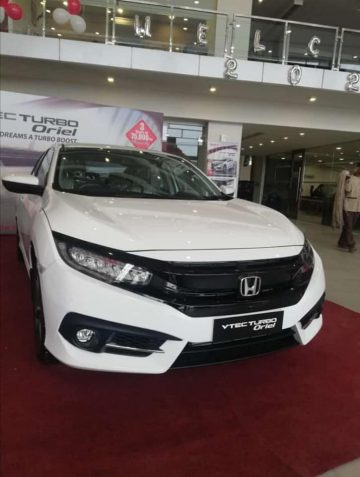 Honda Atlas Introduced a New Civic Variant Called Turbo Oriel 3
