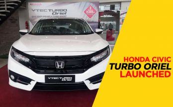 Honda Atlas Introduced a New Civic Variant Called Turbo Oriel 27