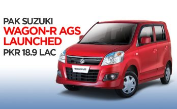 Pak Suzuki WagonR AGS Launched at PKR 18.9 Lac 6