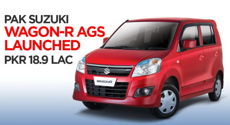Pak Suzuki WagonR AGS Launched at PKR 18.9 Lac 2