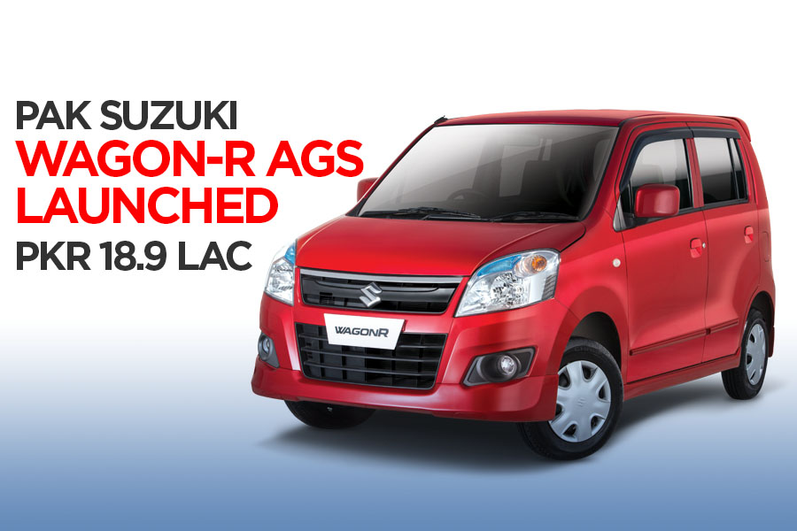 Pak Suzuki WagonR AGS Launched at PKR 18.9 Lac 3