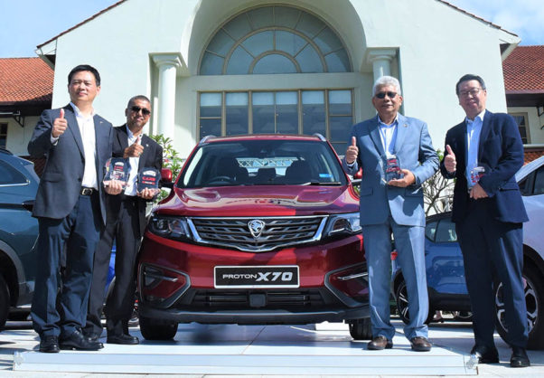 Proton Wins an Array of Awards in Malaysia 1
