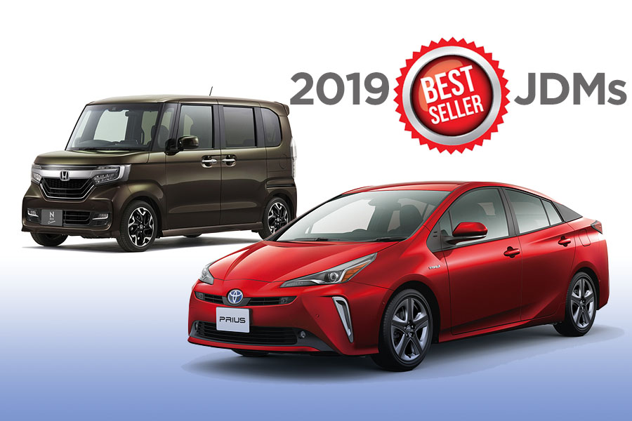 2019- Bestselling cars in Japan 2