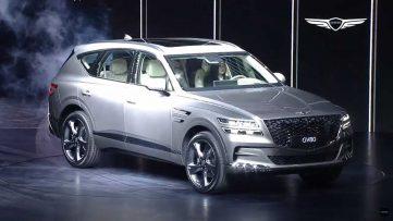 Hyundai Unveils GV80- First Genesis Luxury SUV 4