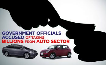 Government Officials Accused of Taking Billions from Auto Sector 11