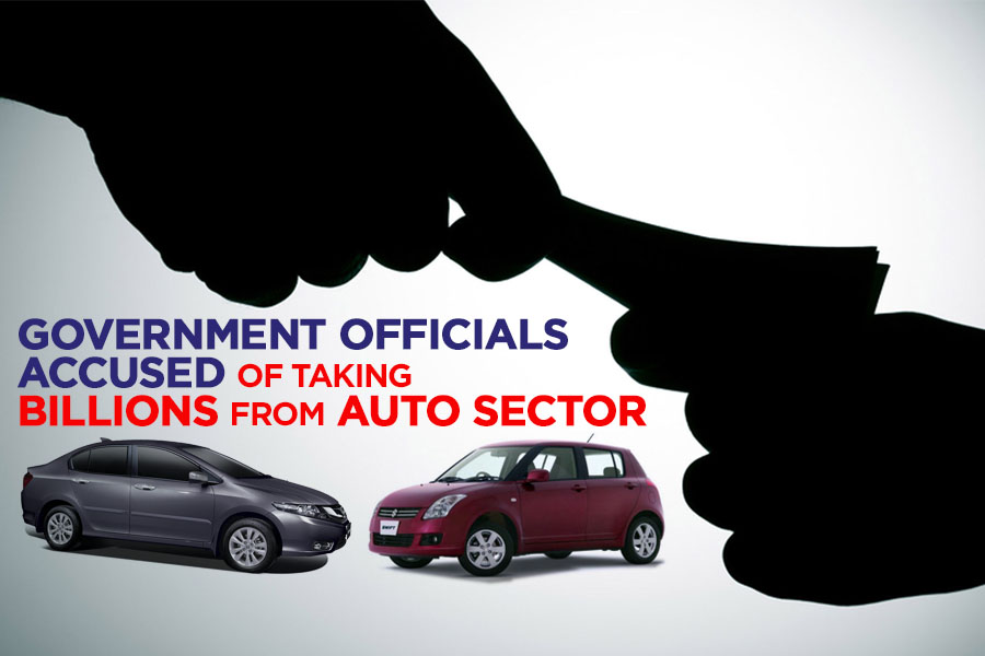 Government Officials Accused of Taking Billions from Auto Sector 1