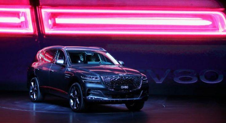 Hyundai Unveils GV80- First Genesis Luxury SUV 1