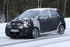 2020 Kia Picanto Facelift Spotted Testing 4