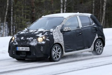 2020 Kia Picanto Facelift Spotted Testing 2