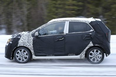 2020 Kia Picanto Facelift Spotted Testing 3
