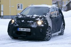 2020 Kia Picanto Facelift Spotted Testing 7