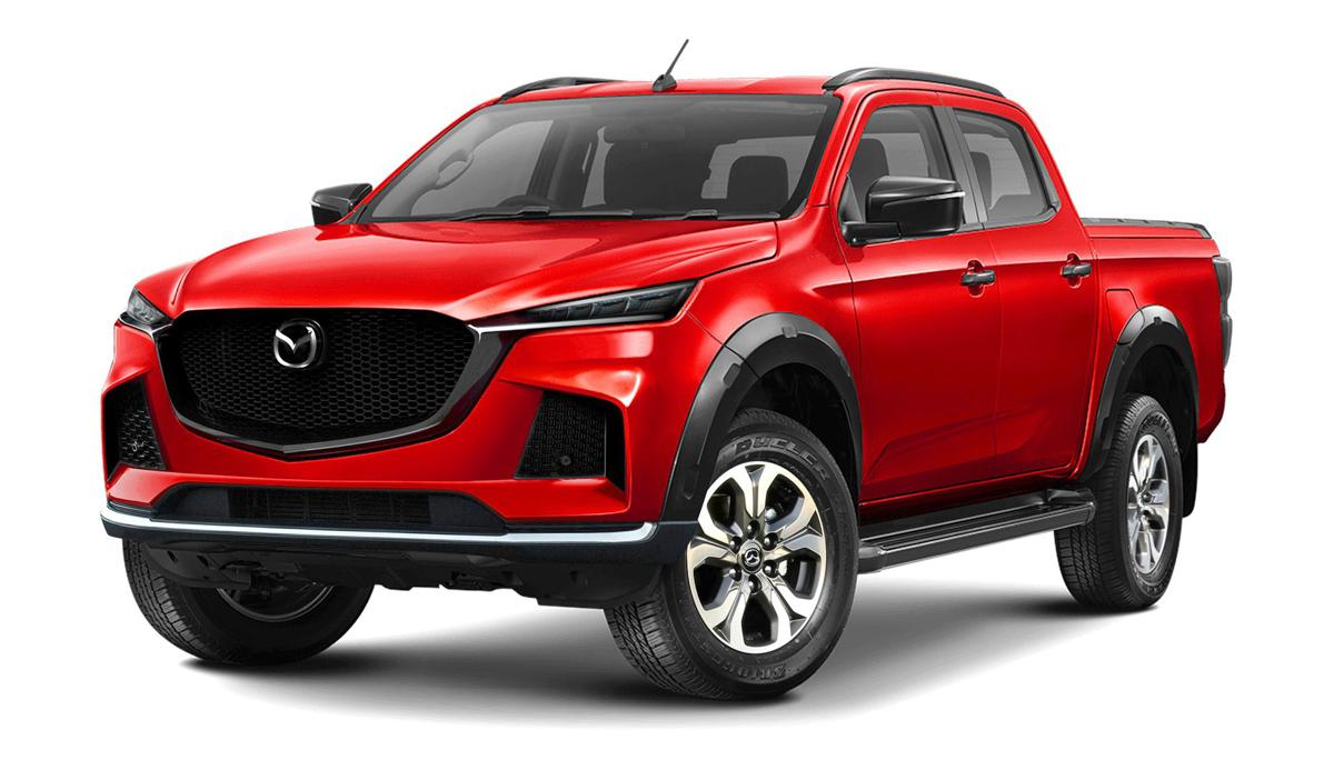 All New Isuzu D-MAX will Spawn the Next Generation Mazda-BT 50 3