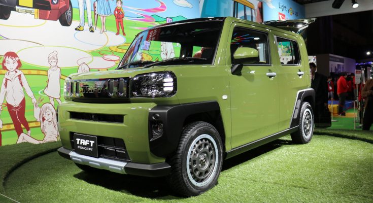 Daihatsu TAFT Concept at Tokyo Auto Salon 1