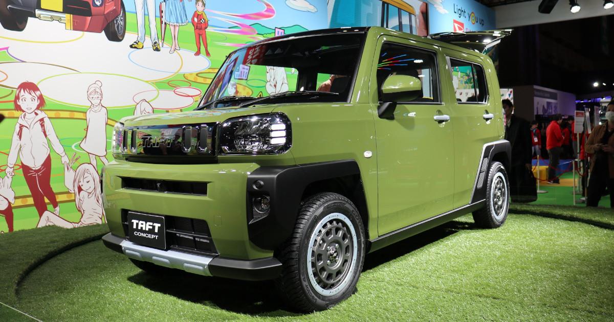 Daihatsu TAFT Concept at Tokyo Auto Salon 3