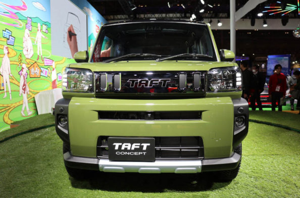 Daihatsu TAFT Concept at Tokyo Auto Salon 4