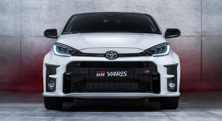 The 257hp Toyota GR Yaris Debuts 1