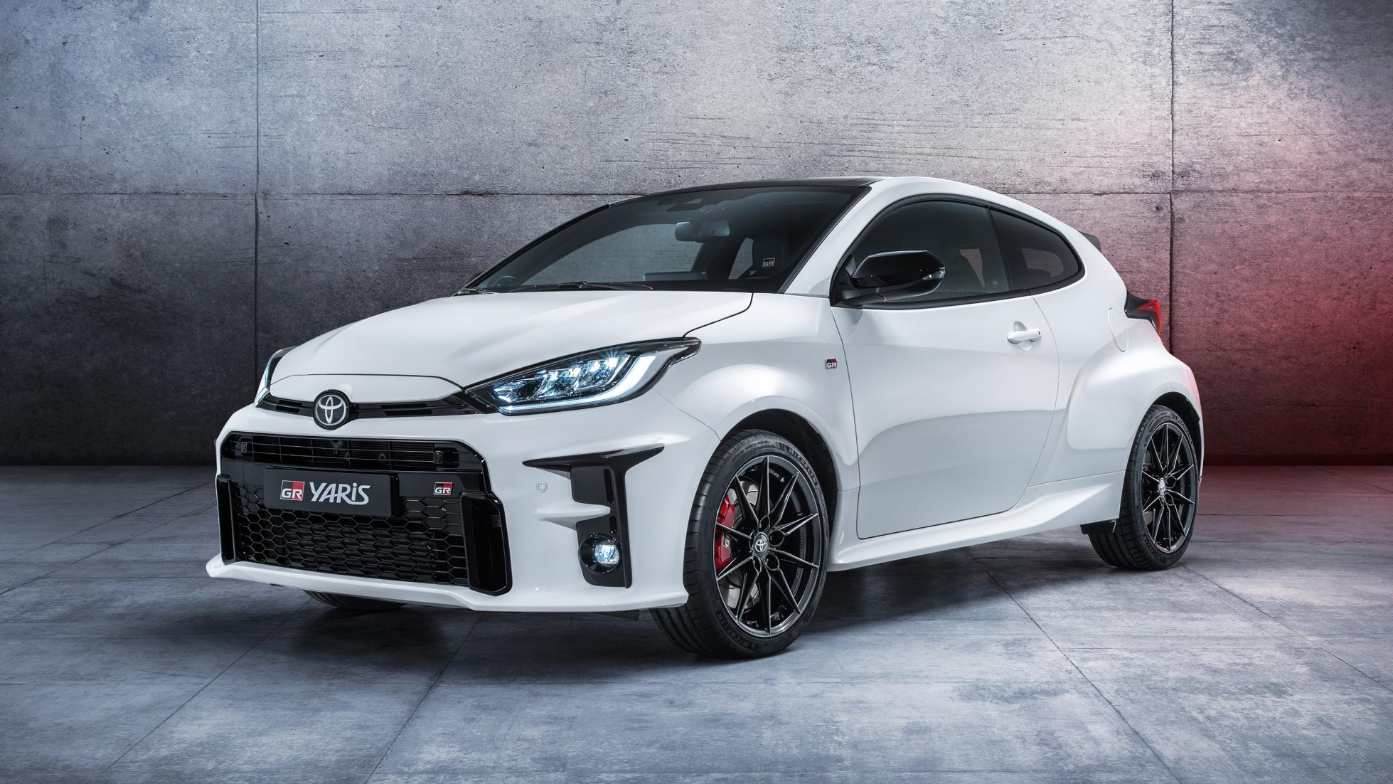 The 257hp Toyota GR Yaris Debuts 2