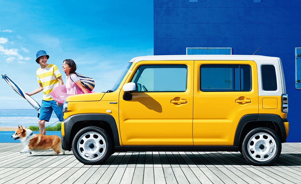 All New 2020 Suzuki Hustler Launched in Japan 5