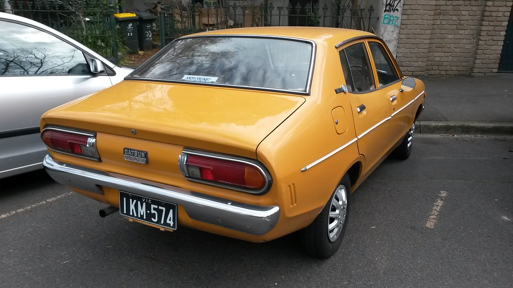 Remembering the Dependable Datsun 120Y 5