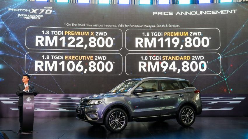 2020 Proton X70 CKD Version Launched in Malaysia with 7-Speed DCT 1