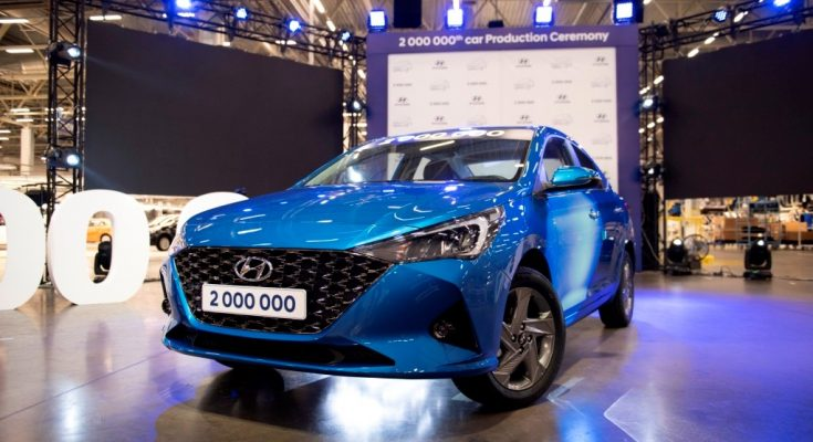 2020 Hyundai Verna (Solaris) Facelift Unveiled in Russia 1