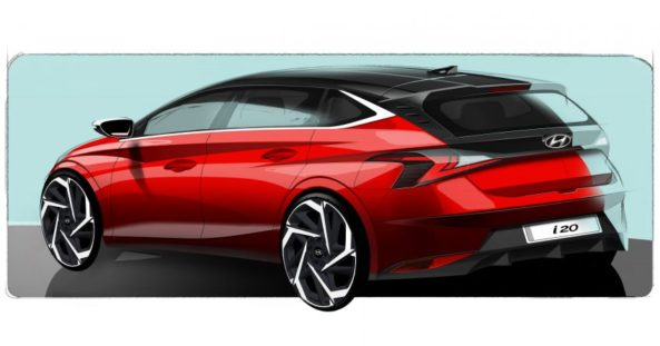 Next Generation Hyundai i20 Teased Ahead of Geneva Debut 2
