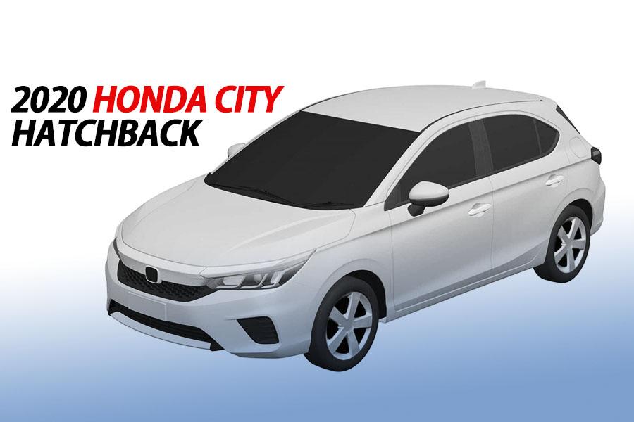 2020 Honda City to Also Get a Hatchback Version 1
