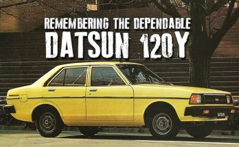Remembering the Dependable Datsun 120Y 45