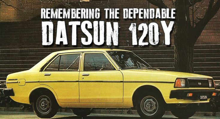 Remembering the Dependable Datsun 120Y 2