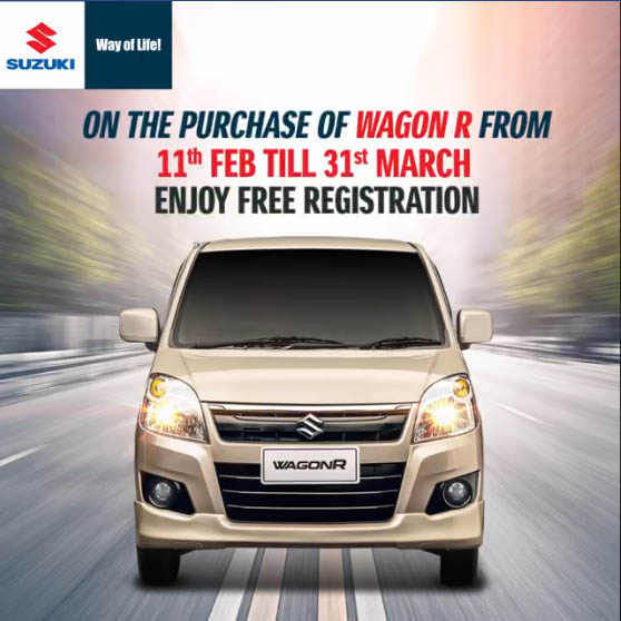 Pak Suzuki WagonR- Lowest Ever Sales & Free Registration 3
