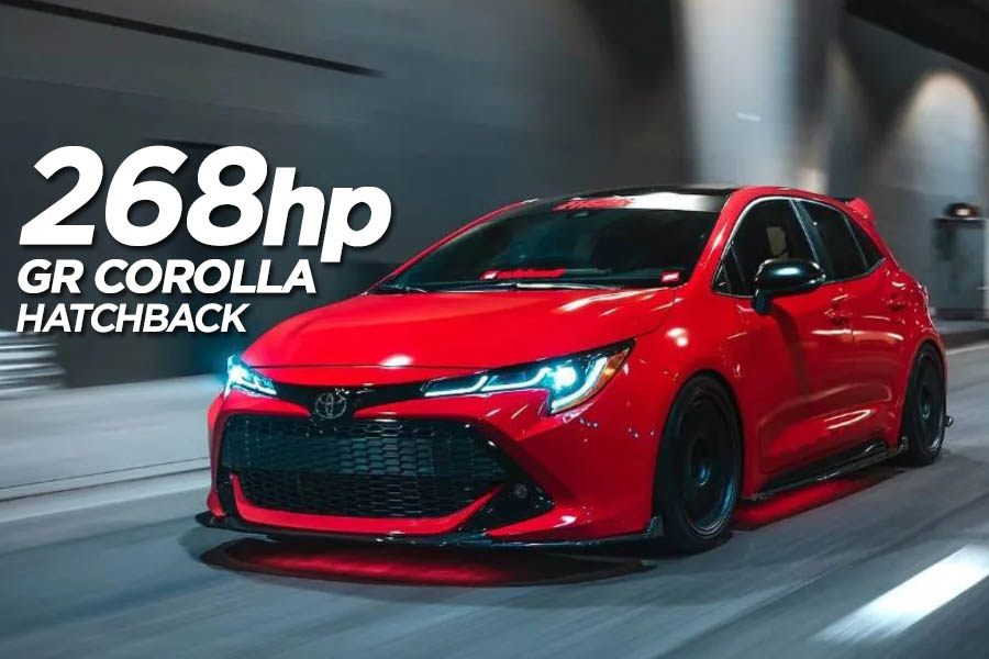 Toyota to Introduce 268hp GR Corolla Hatchback 4