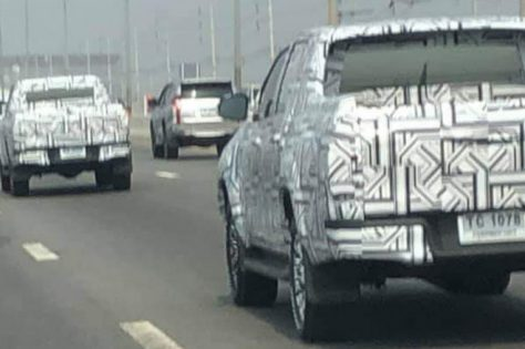 2020 Toyota Hilux Facelift Spotted Testing in Thailand 4