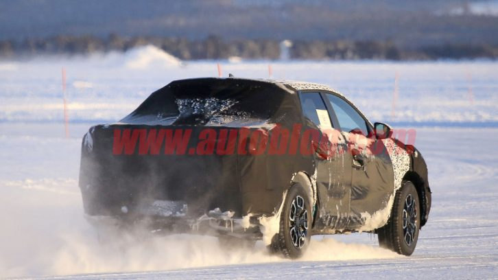 Hyundai Santa Cruz Pickup Caught Testing in Finland 4