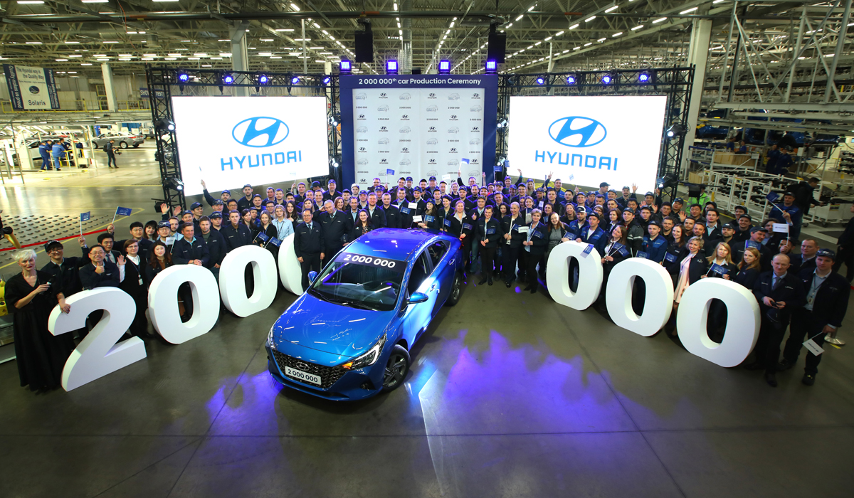 2020 Hyundai Verna (Solaris) Facelift Unveiled in Russia 1