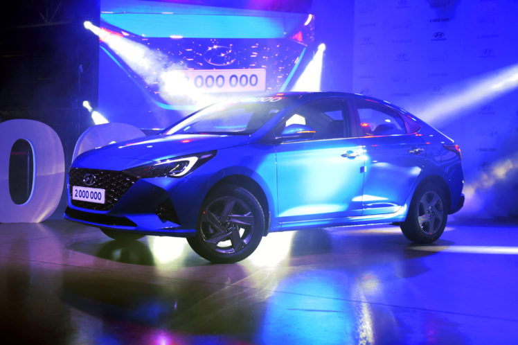 2020 Hyundai Verna (Solaris) Facelift Unveiled in Russia 2