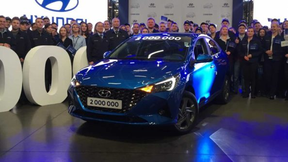 2020 Hyundai Verna (Solaris) Facelift Unveiled in Russia 5