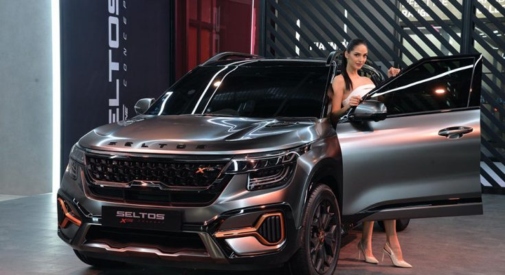 Kia Seltos X-Line Concept Showcased at 2020 Auto Expo 8