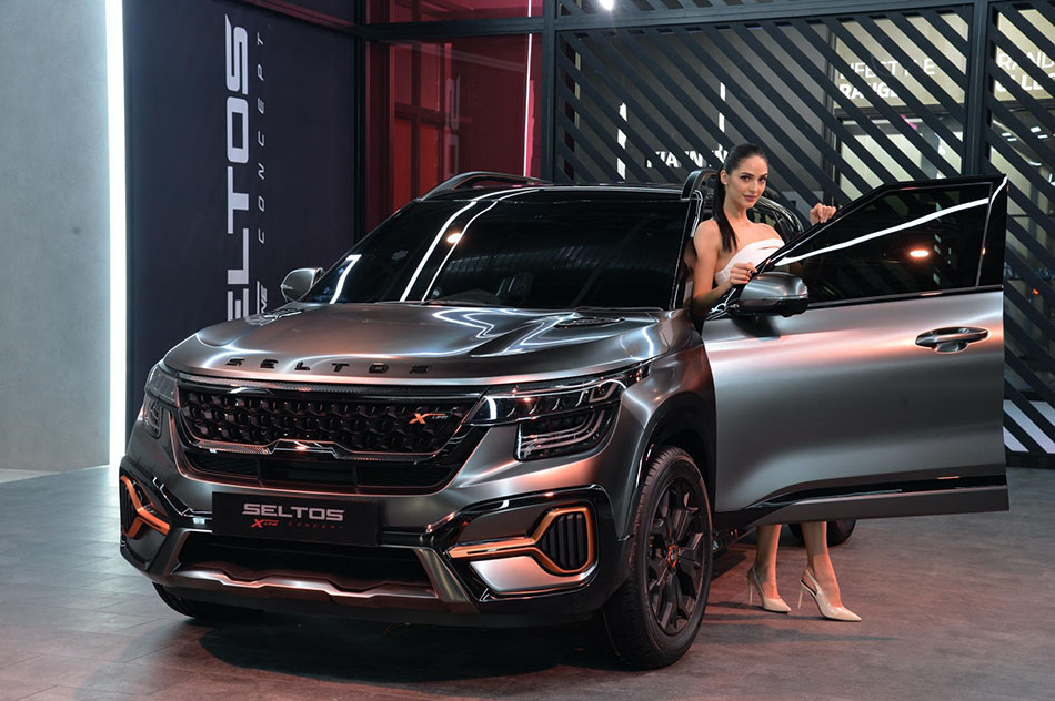 Kia Seltos X-Line Concept Showcased at 2020 Auto Expo 1