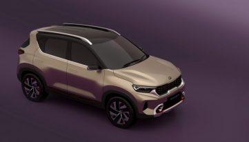 Kia Sonet Concept Debuts at Auto Expo 2020 8