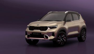 Kia Sonet Concept Debuts at Auto Expo 2020 5