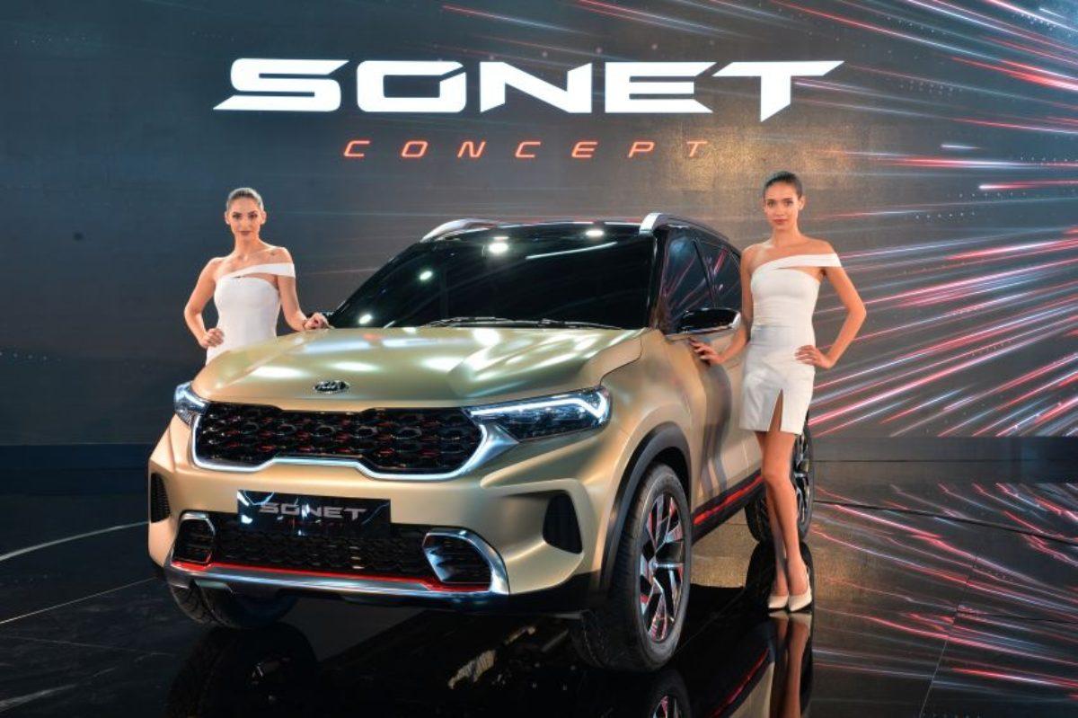 Kia Sonet Concept Debuts At Auto Expo 2020 Carspiritpk
