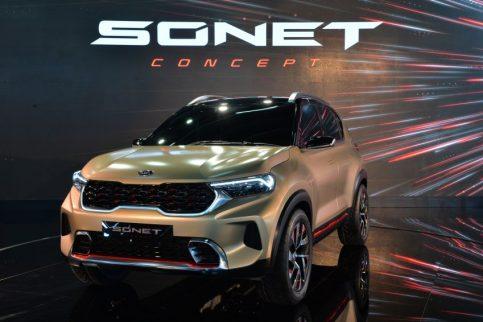 Kia Sonet Concept Debuts at Auto Expo 2020 2